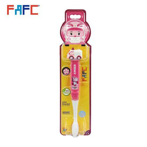 Amber Figurine Kids Toothbrush