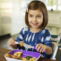 Munchkin Splash Toddler Fork Knife Spoon Set - Assorted