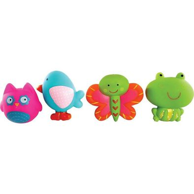 "Babies""R""Us 4Pk Garden Party Bath Squirtees"