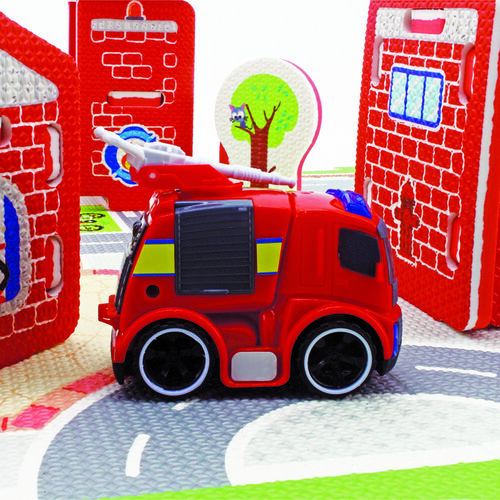 Fire Station Adventures Playset