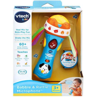 VTech Babble and Rattle Microphone