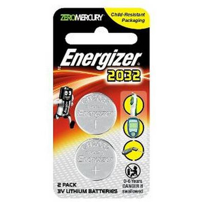 Energizer Lithium Coin 2032 Bp2
