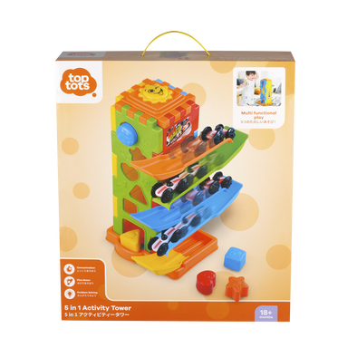 Top Tots 5 in 1 Activity Tower