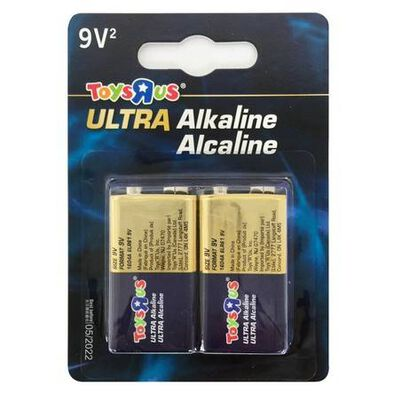 Ultra Alkaline 9V 2'S