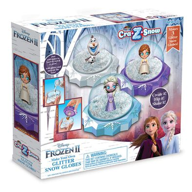Cra-Z-Art Disney Frozen 2 Make Your Own Glitter Snow Globes