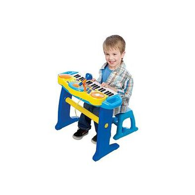 BRU Infant & Preschool Preschool Light Up Keyboard With Stool