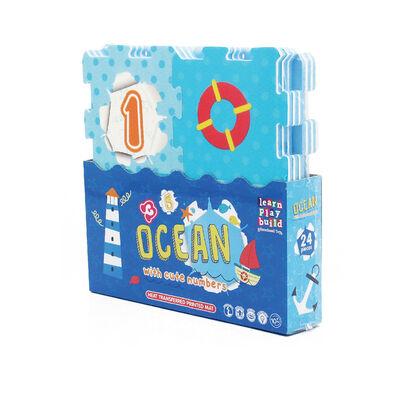 Ocean & Numbers Puzzle