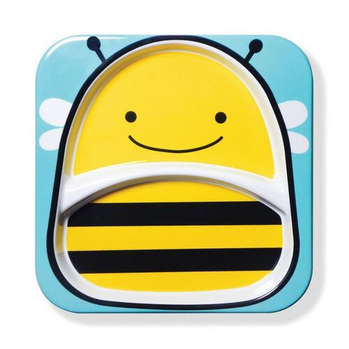 Skip Hop Zoo Tabletop - Plate - Bee