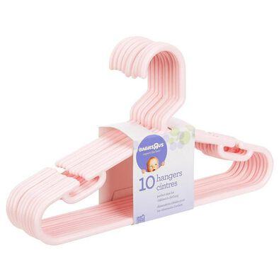 BRU 10 Pack Hangers Pink