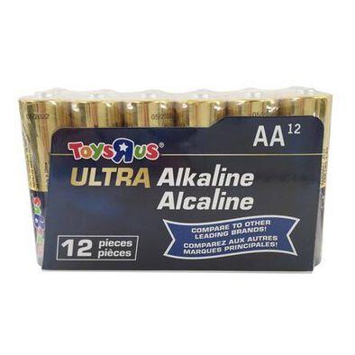 Ultra Alkaline AA 12 Pieces