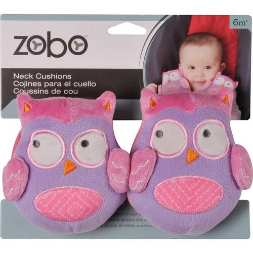 Zobo 2 Piece Neck Cushion Owl