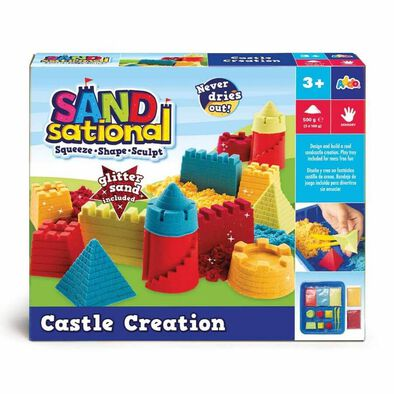Sandsational Castle Creation