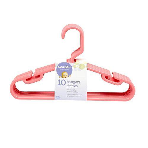"Babies""R""Us 10 Pack Hangers Coral"