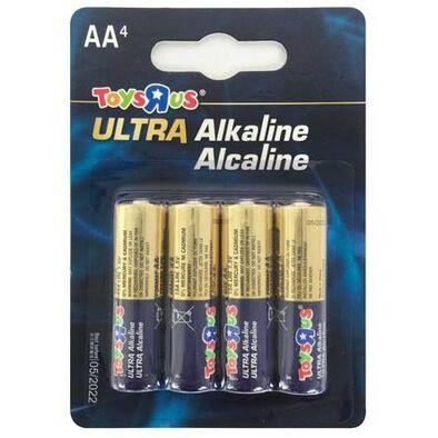 Ultra Alkaline AA 4 Pieces