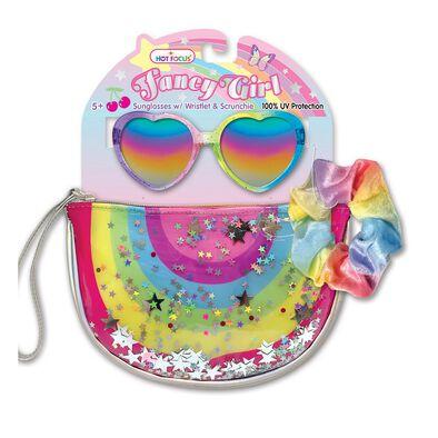Hot Focus Fancy Girl Rainbow
