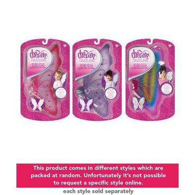 Dream Dazzlers Princess Fairy Wings-Assorted