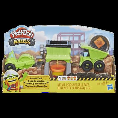 Play-Doh Wheels Gravel Yard Construction Toy