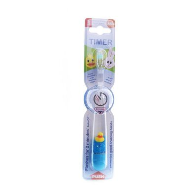 Flashing Toothbrush With Timer - 3D Animal - Assorted