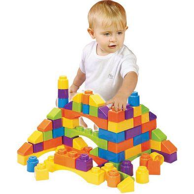 BRU Pre-School 50pcs Building Blocks Playset
