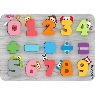 J'adore Number Deluxe Puzzle