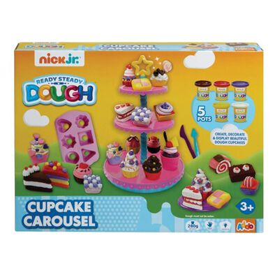 Nick Jr Ready Steady Dough CupcakeCarousel Set