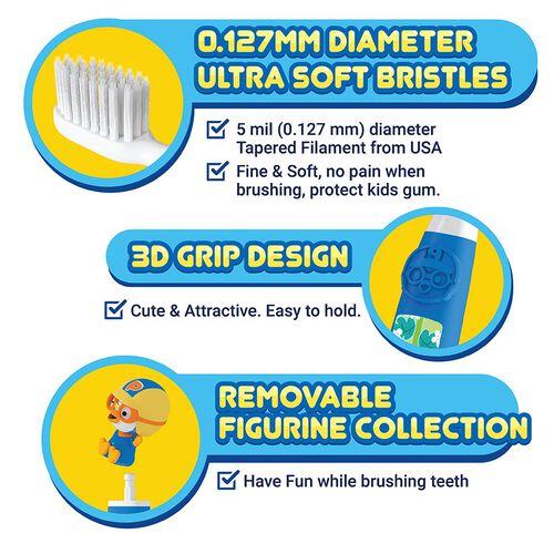 Pororo Figurine Kids Toothbrush