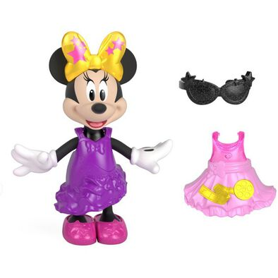 Fisher-Price Minnie M Fashion Doll Snap N Pose - Assorted