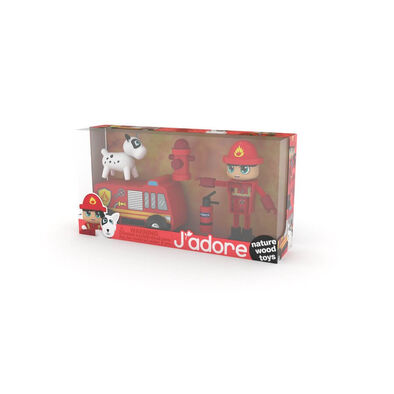 J'adore Firefighter Play Set
