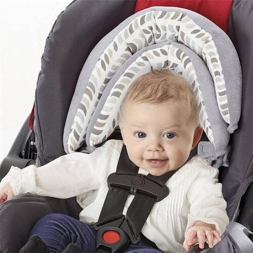 Zobo Reversible Double Headrest Grey