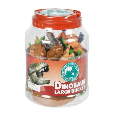 World Animal Collection Dinosaur Large Bucket