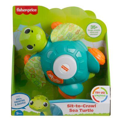 Fisher-Price Linkimals Sit-to-Crawl Sea Turtle