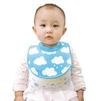 Edison Mama Baby Apron Bib (Blue)