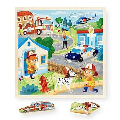 Universe of Imagination 8 Piece Peg Puzzle - Assorted