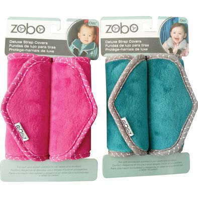 2pc Deluxe Strap Cover Set (Teal or Pink)