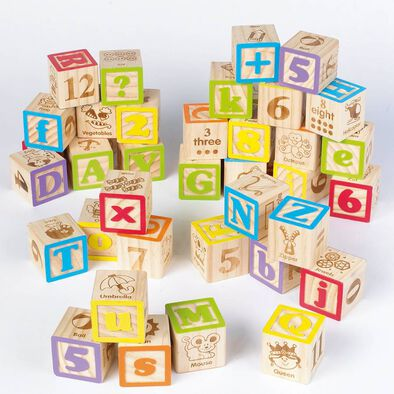 Universe of Imagination Imaginarium 40 Piece Alphabet Blocks