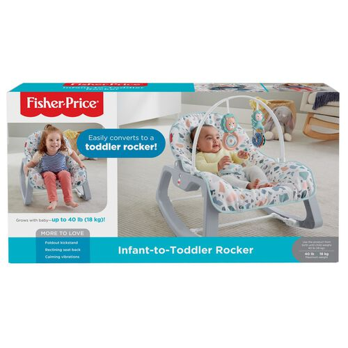 Fisher-Price Infant to Toddler Rocker Seat Pacific Pebble