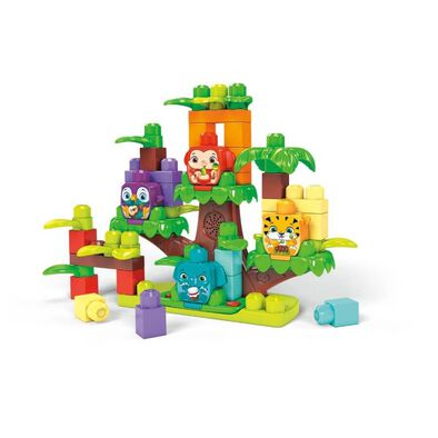 Mega Bloks Jungle Treehouse Band