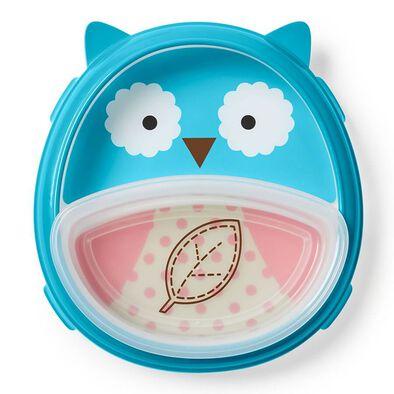 Skip Hop Zoo Eat Neat Plate Set Owl