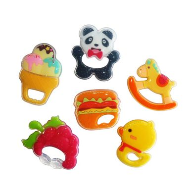 Simple Dimple My 1St Silicone Teether - Assorted