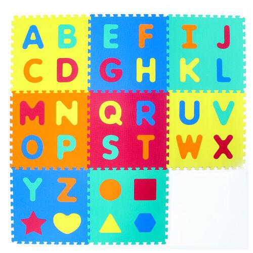 Alphabets (A-Z) & Shapes Puzzle