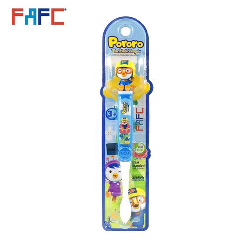 Pororo Figurine Kids Toothbrush