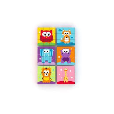 J'adore Jungle Mini Blocks Puzzle - Assorted