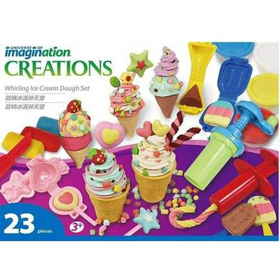 Universe Of Imagination -Whirling Ice Cream Set