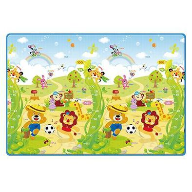 "Babies""R""Us Babiesrus Double Sided Prime Living Mat"