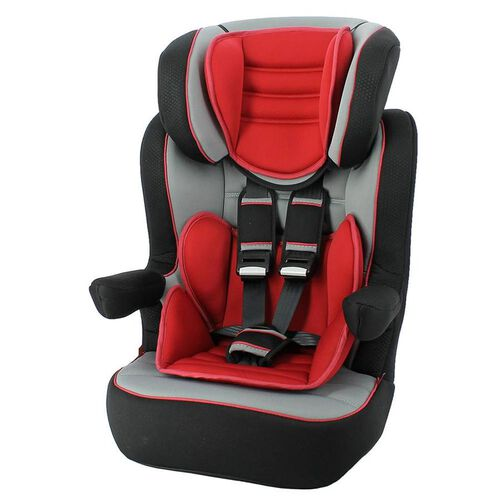 Nania Imax SP Nania Luxe Red High Back Car Seat Booster
