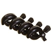 Dreambaby Stroller Clips 4 Pack (Black)