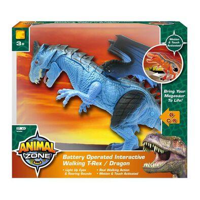 Mighty Megasaur Battery Operated Interactive Walking Dragon
