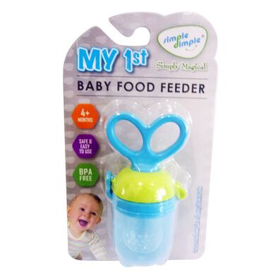 Simple Dimple My 1st Baby Food Feeder - Assorted