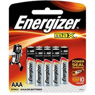 Energizer AAA 8 Pc