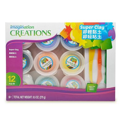 Universe Of Imagination Super Clay Mega Set (9*30G)